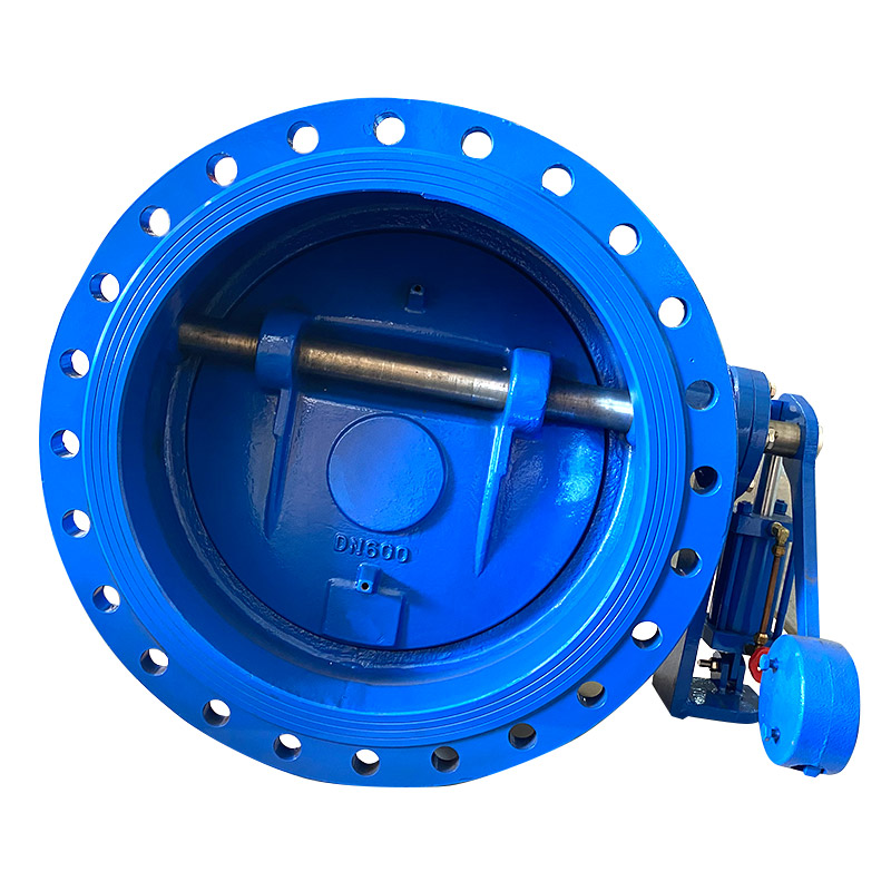 Hydraulic heavy hammer slow closing flange check valve