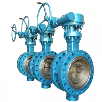 Triple Eccentric Flange Type Butterfly Valve